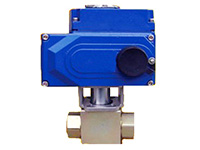 Electric high pressure ball valve